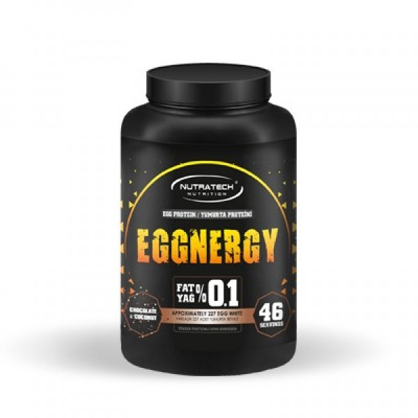 EGGNERGY ® Çikolata ve Hindistan Cevizi 908 Gr